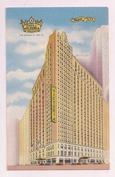 Hotel Victoria New York City