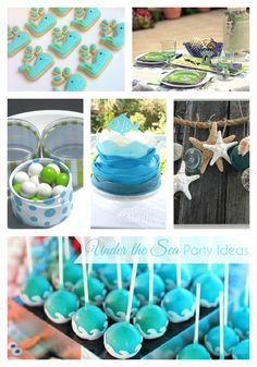 Haute Chocolate - Calgary Party Styling and Custom Party Decor: Under the Sea Party Ideas