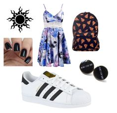 """Untitled #2032"" by jbieberlover6 ❤ liked on Polyvore featuring beauty and adidas"
