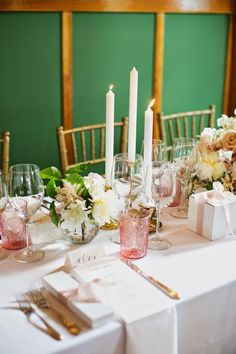~ Wind Lost ~ our elegant small June garden wedding reception Garden Wedding, Our Wedding, Wedding Reception Tables, June, Lost, Candles, Elegant, Dapper Gentleman, Candy