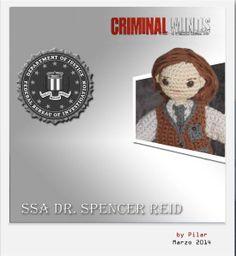 #amigurumi criminal minds Reid