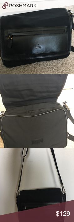 Gucci camera bag Good condition- slight wear on hardware and small scratch on leather front- Gucci might repair the hardware - I never tried asking Gucci Bags Crossbody Bags
