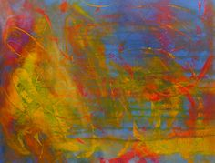 """""""Dance With Me""""  Another POP of color piece, with swirls of color. 24x18""""  $550.00"""
