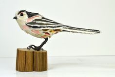 Longtailed Tit papersculpture by Suzanne Breakwell www.suzannebreakwell.com
