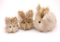 SO MUCH WANT!! ~ Stuffed Animal Stuffed Bunny Cute Plush Toy Bunny by Fuzziggles