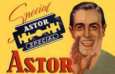 ASTOR razor blades Vintage Advertising Posters, Old Advertisements, Vintage Posters, Old Posters, Illustrations And Posters, Vintage Signs, Vintage Ads, Classic Shaving, Old Greek