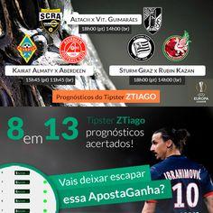#Prognósticos para a #UEFA #EuropaLeague de #Tipster On Fire: http://www.apostaganha.pt/cat/de-futebol/liga-europa-de-futebol/ #LigaEuropa #UEL #Apostas #futebol #Guimarães #altach #kairat #almaty #aberdeen #sturmgraz #rubinkazan #apollongabala #apostaganha #gambling #sportsbetting #bets #apostasonline #footy #football #soccer