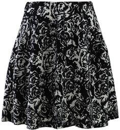 #Chic wish                #Skirt                    #Blooming #Rose #Print #Skirt                       Blooming Rose Print Skirt                           http://www.seapai.com/product.aspx?PID=1005315