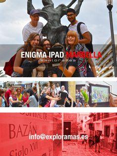 Porque no es lo mismo conocer que descubrir. Un centenar de empleados de una multinacional descubrieron Marbella en octubre con nuestro Enigma iPad.