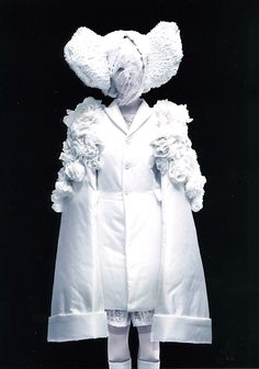 White Drama from Comme Des Garcon, her ideas is just endless, every years people just wonder What will Rei Kawakubo will do for the next collection, it's just really curious. And look at her collection, it's like a massive expression and mood and stories that she never tell anyone and she puts that on her design, it's like a work of art.