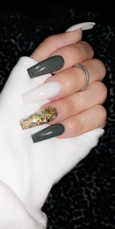 Long Square Acrylic Nails, Classy Acrylic Nails, Acrylic Nails Coffin Short, Cute Acrylic Nail Designs, Fall Acrylic Nails, Ambre Nails, Cute Nails For Fall, Claw Nails, Finger