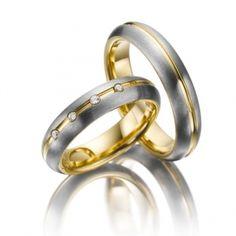 Обручальное кольцо с бриллиантом золотые для мужчин