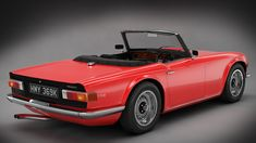 Stunning form of the TR6