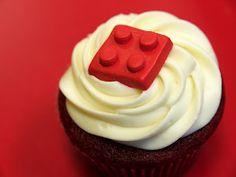 #lego #redvelvet cupcakes