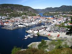 Flekkefjord is the westernmost town in Southern Norway.