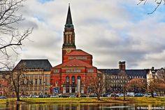 Kiel Rathausturm und Theater ... http://www.reisen-sehenswuerdigkeiten.de