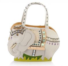 Handbag a forma di elegante