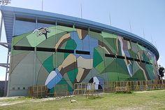Estadio Centenario - El 18 de julio de 1983 fue declarado por la FIFA como Monumento Histórico del Fútbol Mundial, siendo la única construcción de esta índole en todo el mundo. Parque Batlle, Montevideo