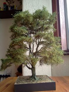 """""""Beech Tree"""" 1/35 scale Diorama base by Terence Young"""