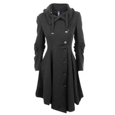Elegant Black Overcoat Price $56.35 AUD Click the link in my bio ---> @soulkreedclothing and grab yours today while stocks last. Sign up to our newsletter and get 15% off all purchases! Outerwear Type: Wool & Blends Pattern Type: Solid Clothing Length: Long Sleeve Length: Full Material Composition: Polyester Collar: Turn-down Collar Closure Type: Double Breasted Decoration: Button Type: Asymmetric Length Sleeve Style: Regular Material: Polyester Sleeve Type: Regular ..