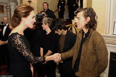 Harry Styles meets the Duchess