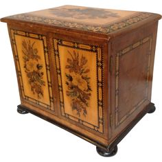 Tunbridge Ware Miniature Chest from Antiques of River Oaks on Ruby Lane $2,500 - Questions Call: 713-961-3333