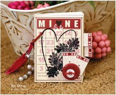 Valentine Bingo.....this is from the Feb/March 2010 Simply Handmade magazine