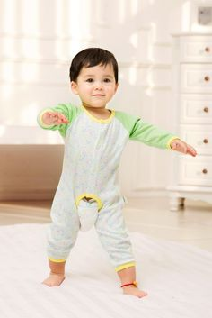 2015 New Cute Fashion Spring Autumn Baby Clothing Romper Unisex Factory Direct Clothing Cheap Character Newborn Jumper Cotton Fall For 0-24M Baby Boy Baby Girl Clothes Brand Infant Garment Fashion Striped Orange Roupas Bebes Clothes Jumpsuit Romper China Brand