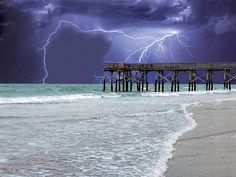 Really awesome pic of lightning not sure where, but so scary, yet so beautiful at the same time...