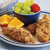 Peanut-Crusted Chicken Fingers Recipe — Dishmaps