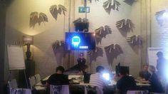 Global hackathon. Teams working through their 24 hours.