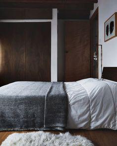 """Night"" Wool Queen Blanket - Nalata Nalata"