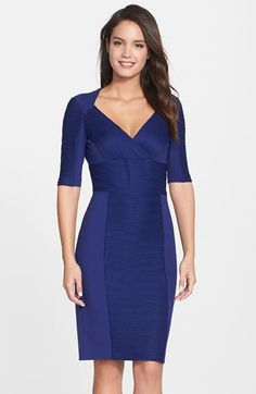 Nue by Shani Ottoman Knit Dress available at #Nordstrom