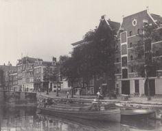 Amsterdam, Korte Prinsengracht met rechts het begin van de Haarlemmerdijk Foto van George Breitner