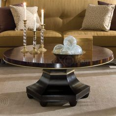 Better Value Furniture - American Drew Bob Mackie 591-912 Round Cocktail Table, $672.00 (http://www.bettervaluefurniture.com/american-drew-bob-mackie-591-912-round-cocktail-table/)