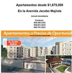 Apartamentos desde $1,675,000 - 809.596.3555 - Publicidad