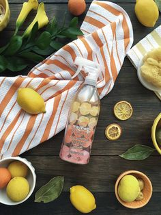 """so much inspiration for bright happy days at home from Brooklyn-based designer Rebecca Atwood's limited-edition collaboration with method of naturally derived products inspired by sweet-citrus and delicate scents of fresh, ripe fruits.""- @carissa_burton"