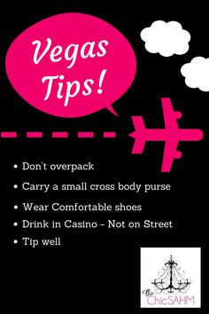 Travel tips for Las Vegas; The Chic Stay At Home Mom: Vegas Recap: Tips for First Timers
