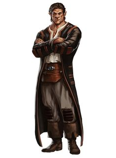 Lazlo the Half Orc Merchant