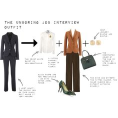 """""""The Unboring Job Interview Outfit: Part 1"""" by pragmaticfashionista on Polyvore"""