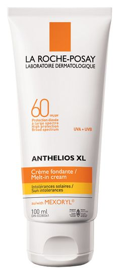 Anthelios XL Melt-in Cream SPF 60- My summer go to. Never had a burn on my face since I've started using this product