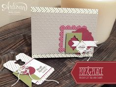 Artisan Blog Hop. Ways to use the new Pop & Place and Christmas Tagables from Stampin' Up!