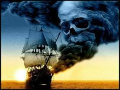 home decor pictures framed for sale online Pirate Boats, Pirate Art, Pirate Skull, Pirate Life, Pirate Ships, Pirate Ship Tattoos, Pirate Tattoo, Bateau Pirate, Old Sailing Ships