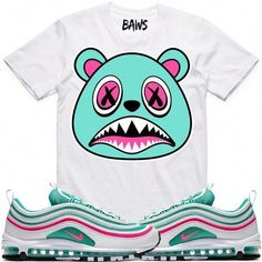 1e7cfe1e0ea895 SOUTH BEACH BAWS Sneaker Tees Shirts - Air Max 97  Sneakers Instagram Shoes