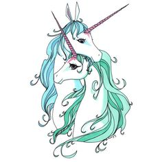 unicorns | Tumblr ❤ liked on Polyvore featuring fillers, animals, drawings, art, unicorn, doodles and scribble