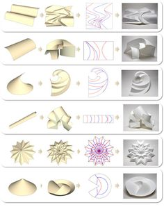 61 ideas for origami design kirigami paper 3d Paper Art, Origami Paper Art, Diy Paper, Paper Crafts, Folding Architecture, Paper Structure, Do It Yourself Inspiration, Origami And Kirigami, Origami Design
