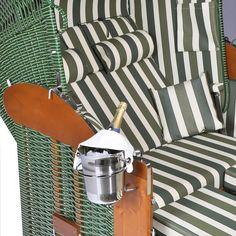 Sektkühlerhalter zum Einhängen in Sonnenpartner Strandkörbe (Sektkühler bitte separat bestellen)