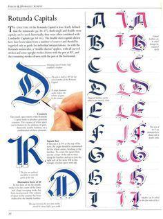 The Art of Calligraphy / Rotunda Capitals