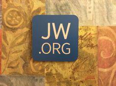 JW.org Engraved Magnetic Badge by AshfordCourt on Etsy, $9.50