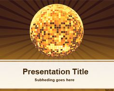 22 Best Music Powerpoint Template Images On Pinterest Powerpoint